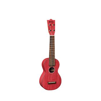 0X Uke Bamboo - Red